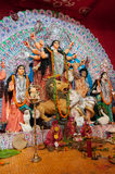 Durga Puja festival in Kolkata, India Royalty Free Stock Image