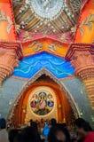 Durga Puja festival in Kolkata, India Stock Image