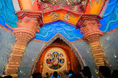 Durga Puja festival in Kolkata, India Stock Photography