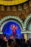 Durga Puja festival in Kolkata, India Royalty Free Stock Images