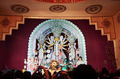 Durga Puja festival in Kolkata, India Stock Images