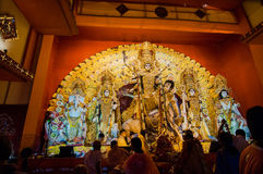 Durga Puja festival in Kolkata, India Stock Photos