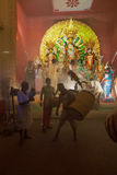 Durga Puja festival in Kolkata, India Stock Photo