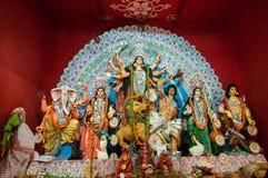 Durga Puja-Festival in Kolkata, Indien stockfotos
