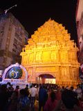 Durga Puja festiwal obraz stock