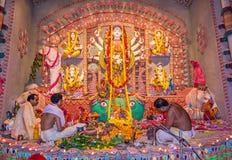 Durga Puja festiwal Obrazy Stock