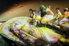 Durga Puja festiwal w Kolkata, India Fotografia Stock