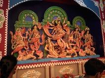 Durga puja festiwalu bengalczyków pooja zdjęcie royalty free