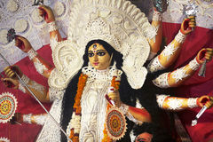 Durga Puja, Idol of Goddess Durga Stock Images