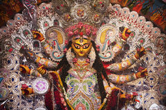 Durga Puja, Idol of Goddess Durga Stock Image