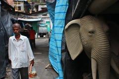 Durga Puja, Kolkota Fotos de archivo