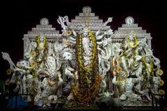 Durga Puja mahotsav-δυτικά Βεγγάλη Στοκ φωτογραφίες με δικαίωμα ελεύθερης χρήσης