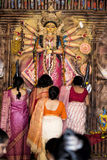 Durga Puja 2013 : Sindoor Khela on Dashami Royalty Free Stock Images