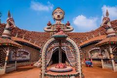 Durga Puja-Tempel stockfoto