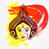 Durga, Saraswati, Lakshmi illustration Royalty Free Stock Photography