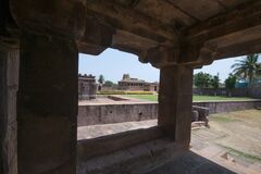 Durga temple at aihole karnataka india.