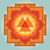 Durga Yantra Royalty Free Stock Photography