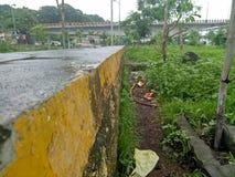 Durgaadi mosta widok Zdjęcie Stock