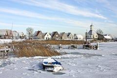 durgerdam holandii tradycyjna wioska Fotografia Royalty Free