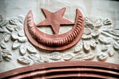 durgha伊斯兰nagore寺庙新加坡符号 免版税库存图片
