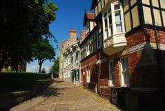 Durham, aléia do centro de cidade Imagens de Stock Royalty Free