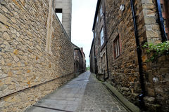 Durham alleyway Royalty Free Stock Images