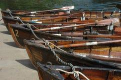 Durham-Boote Stockfotografie