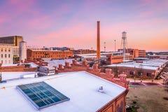 Durham, Carolina del Norte, los E.E.U.U. foto de archivo
