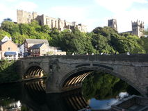 Durham - Castle and Cathedral Royalty Free Stock Photo
