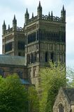 Durham Cathedral. The birthplace of Christianity in England.  Home of the 'Prince Bishops Royalty Free Stock Photo
