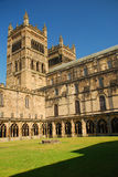 Durham Cathedral, England, Great Britain. The Norman-gothic cathedral of Durham, England, Great Britain stock photo