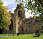 Durham Cathedral. Burial place of St Cuthbert, Durham Cathedral in County Durham, England Stock Images