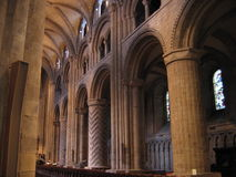 Durham Cathedral. England Stock Photography
