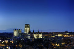 Durham Cathedral and Castle by Night Stock Image