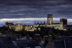 Durham Cathedral and Castle. Photographed just before sunrise Stock Images
