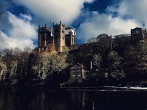 Durham cathedral in a different light. Durham cathedral different light hdr stock photos