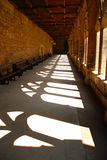 Durham Cathedral, inner cloister Royalty Free Stock Images