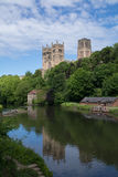 Durham Cathedral over the River Wear Royalty Free Stock Photo