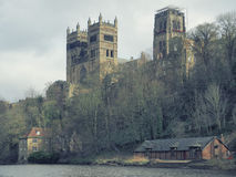 Durham Cathedral and River Wear Stock Photo