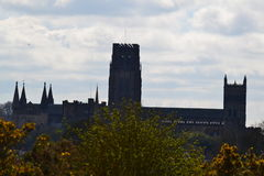 Durham cathedral on a summers day Royalty Free Stock Photos