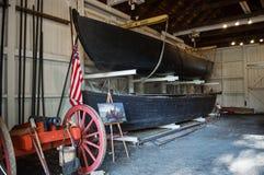 Durham fartyg Washington Crossing Fotografering för Bildbyråer