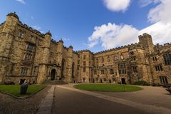 Durham kasztel obraz royalty free