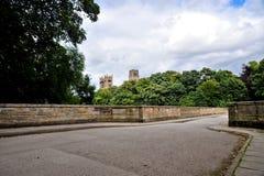 Durham-Kathedrale Stockfoto