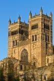 Durham-Kathedrale-Kontrolltürme Lizenzfreie Stockbilder