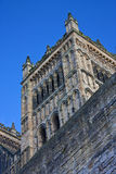 Durham-Kathedrale-Kontrollturm Stockfoto