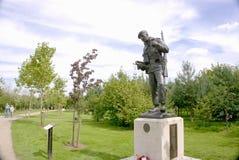 Durham Lekkiej piechoty pomnik obraz royalty free