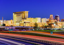 Durham, Noord-Carolina Stock Foto