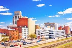 Durham, Noord-Carolina, de V.S. Royalty-vrije Stock Afbeeldingen