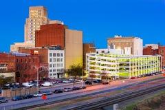 Durham North Carolina Skyline Royalty Free Stock Photos