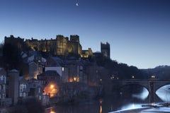 Durham przy świtem Fotografia Royalty Free